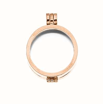 MY iMenso Medallion 24mm (925/Rosegold-Plated) 24-0075