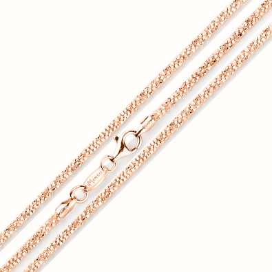 MY iMenso Margherita 42cm Necklace (925/Rosegold-Plated) E 27-0032-42