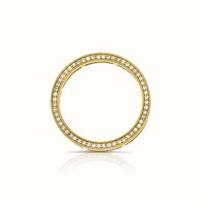 MY iMenso Dancing - 925/Gold-Plated Dancer Disc 56X Cz 28-0092