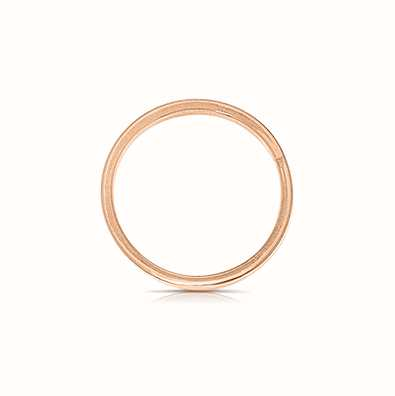 MY iMenso Dancing - 925/Rosegold-Plated Dancer Disc 18X25mm 28-0103