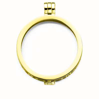 MY iMenso Medallion 33mm (925/Gold-Plated) 33-0074
