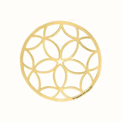 MY iMenso Polished Cover 33mm Insignia (925/Gold-Plated) 33-0326