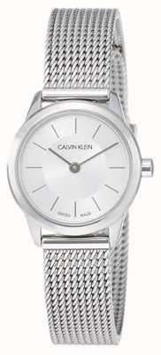 Calvin Klein Womens' Minimal   Stainless Steel Mesh Strap   K3M23126