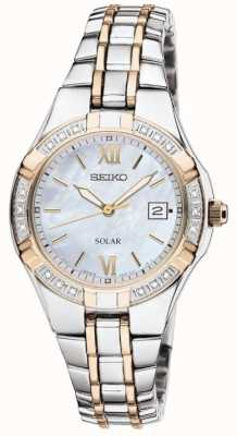 Seiko Womens' Dress Watch Solar   Stainless Steel Strap   SUT068P9