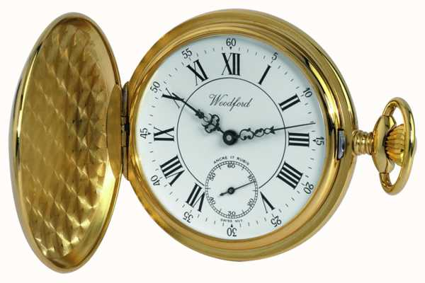 Woodford | Full Hunter | Gold Plated | Pocket Watch | 1009