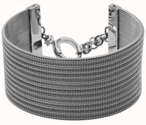 Skagen Stainless Steel Mesh Cuff Bracelet SKJ0110040