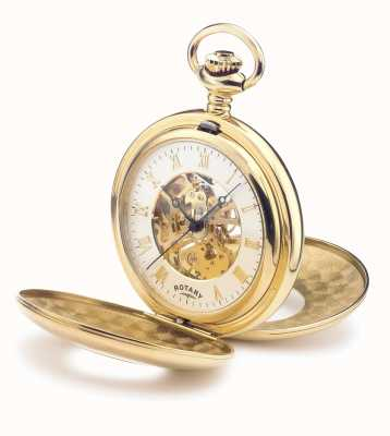 Rotary Men's Hand-Wound Pocket Watch EX-DISPLAY MP00713/01EX-DISPLAY