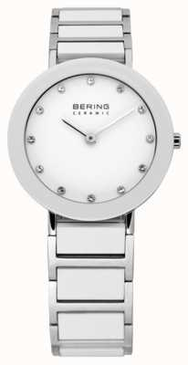 Bering Ceramic & Metal Bracelet Watch 11429-754