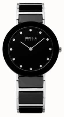Bering Crystal Inset Ceramic Designer Watch 11435-749