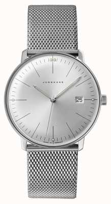 Junghans Mens Max Bill Stainless Steel Watch 041/4463.48