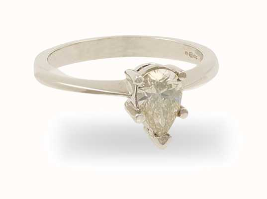 18k White Gold 0.49 ct Diamond Ring FCD00402