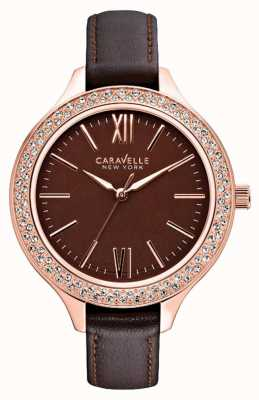 Caravelle New York Ladies Carla Watch 44L124