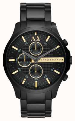 Armani Exchange Mens All Black Chronograph AX2164