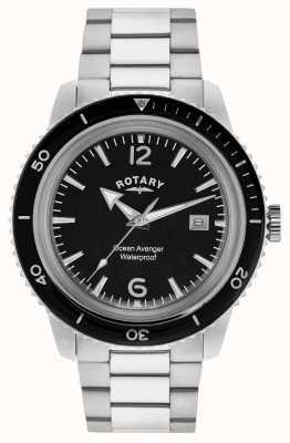 Rotary Ocean Avenger Stainless Steel Mens GB02694/04