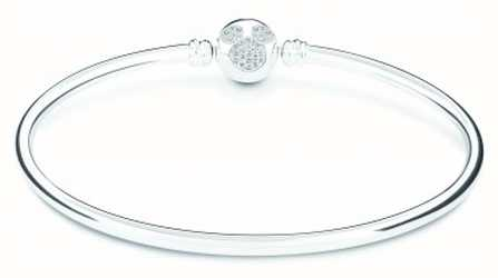 Chamilia Disney Mickey Mouse Brilliance Bangle, Small 1025-0008