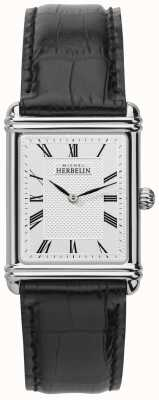 Michel Herbelin Mens, Analogue Quartz, Leather Strap 17468/08