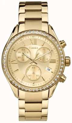 Timex Womens Miami PVD Plated Chronograph TW2P66900