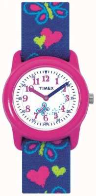 Timex Childrens Kids Butterfly Strap Watch T89001