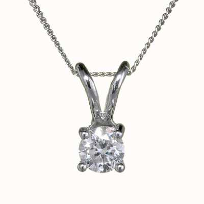 18ct White Gold 'Four Claw' - 0.70ct H SI FOURCLAW-P070
