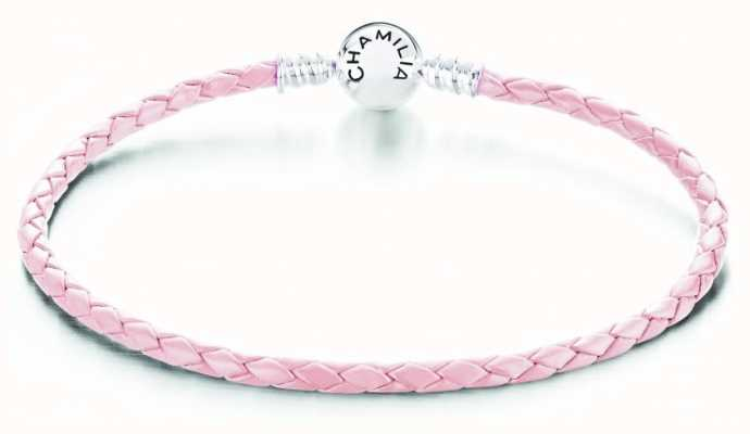 Chamilia Blush Leather Medium Bracelet 1030-0164