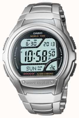 Casio Waveceptor Radio Controlled Alarm Chronograph WV-58DU-1AVES