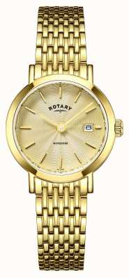 Rotary Ladies Timepieces Windsor Gold Plated LB05303/03