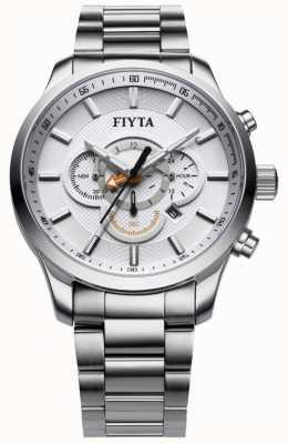 FIYTA Stainless Steel Chronograph Watch G788.WWW