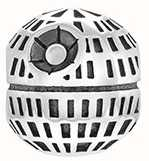 Chamilia Death Star Charm 2010-3434