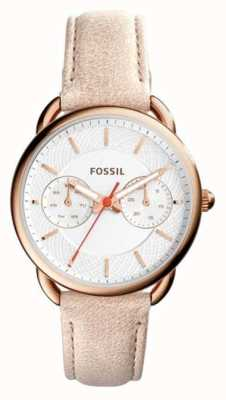 Fossil Womens Tailor Light Brown Leather Strap ES4007