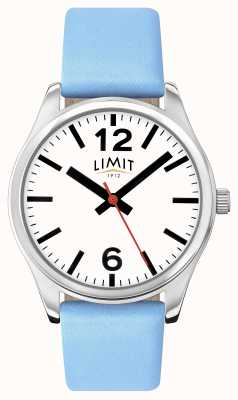 Limit Womens Blue Strap White Dial 6182.01
