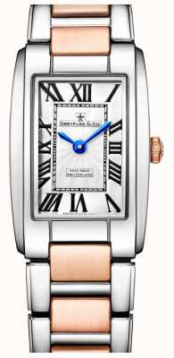 Dreyfuss Elegance Two Tone Rose Gold Watch DLB00147/01