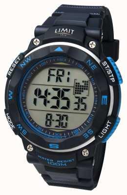 Limit Mens Sport Watch Black Strap 5487.01
