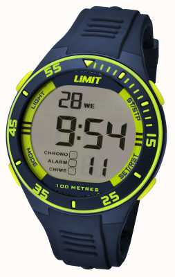 Limit Mens Navy Strap Digital Dial 5574.24