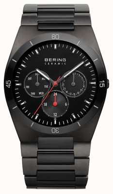 Bering Mens Black IP Plated Black Dial 32341-792