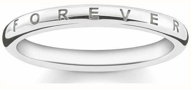 Thomas Sabo Sterling Silver Ring 52 TR2125-001-12-52