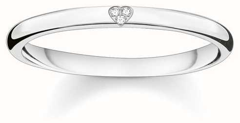 Thomas Sabo Sterling Silver Ring 54 D_TR0016-725-14-54