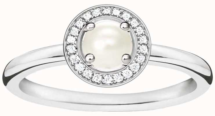 Thomas Sabo Glam and Soul Sterling Silver Ring 54 D_TR0007-765-14-54