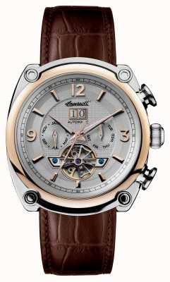 Ingersoll Mens 1892 The Michigan Brown Leather Strap I01103