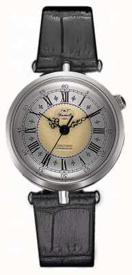J&T Windmills Womans Throgmorton Mechanical Watch Sterling Silver WLS10002/50
