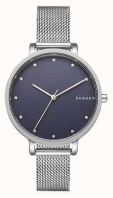 Skagen Ladies Silver Skagen Watch | Stainless Steel Mesh Strap | SKW2582