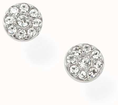 Fossil Womens Stainless Steel Stone Set Earrings JF00828040
