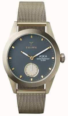 Triwa Womans Ash Aska Gold Mesh AKST103-MS121717