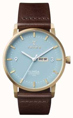 Triwa Unisex Arctic Klinga Brown Leather KLST106-CL010413