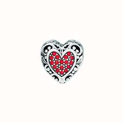Chamilia | Disney Beauty and the Beast | Belles Heart Charm | 2025-2163