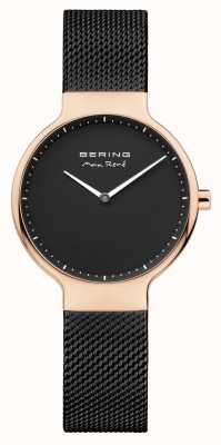 Bering Ladies Max René interchangeable Mesh Strap Black 15531-262