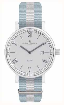 Smart Turnout County Watch - Silver With Ell Strap STK1/SV/56/W