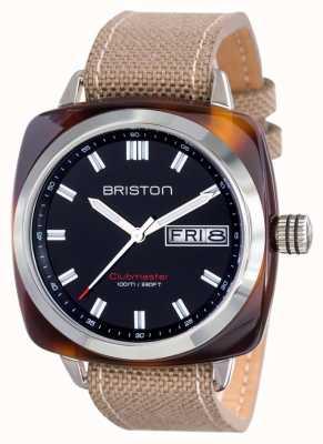 Briston Mens Clubmaster Sport Acetate HMS Tortoise Shell Black 15342.SA.TS.1.LSK