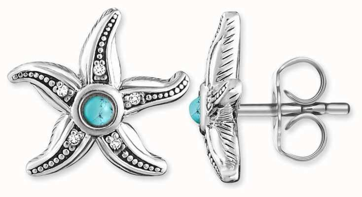 "Thomas Sabo EAR STUDS ""ETHNIC STARFISH D_H0005-357-17"