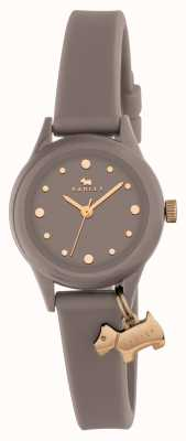 Radley Women's 'Watch It' Grey Strap Gold Markers RY2322