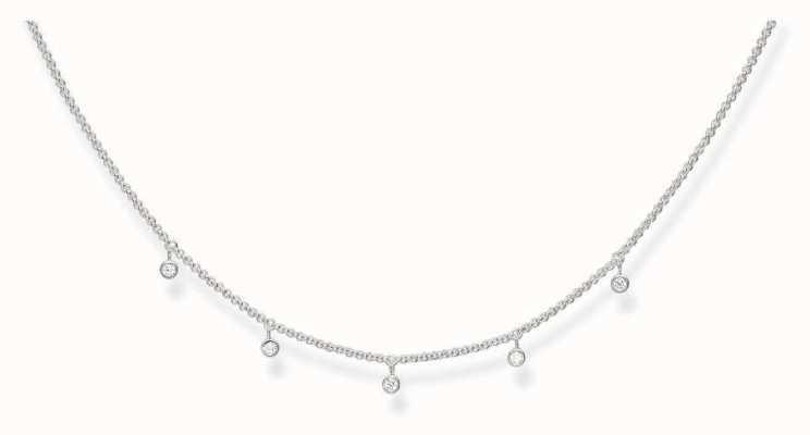 Thomas Sabo Glam & Soul Necklace Cubic Zirconia KE1536-051-14-L45v